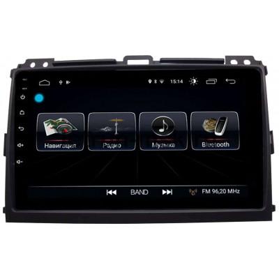 Toyota Land Cruiser Prado 120 2002-2009 LeTrun 2443 на Android 8.0.1 MTK-L 2Gb