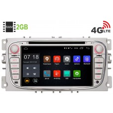 Ford Focus II 2008-2011, C-Max, S-Max, Galaxy, Mondeo LeTrun 1412 Android 6.0.1 7 дюймов (4G LTE 2GB)