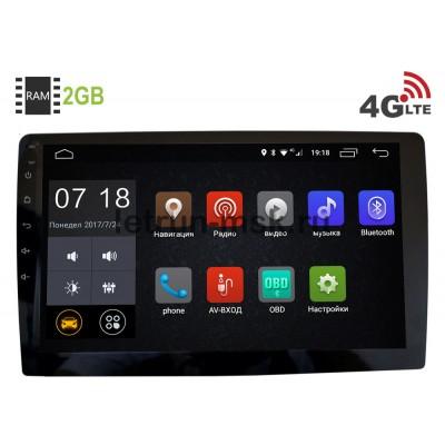 1 DIN LeTrun 2508 Android 7.1 9 дюймов (4G LTE 2GB) под штатную рамку