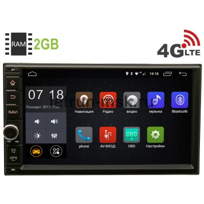 2 DIN LeTrun 1968 Android 6.0.1 7 дюймов (4G LTE 2GB)