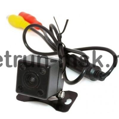 Универсальная камера заднего вида кубик с ИК подсветкой